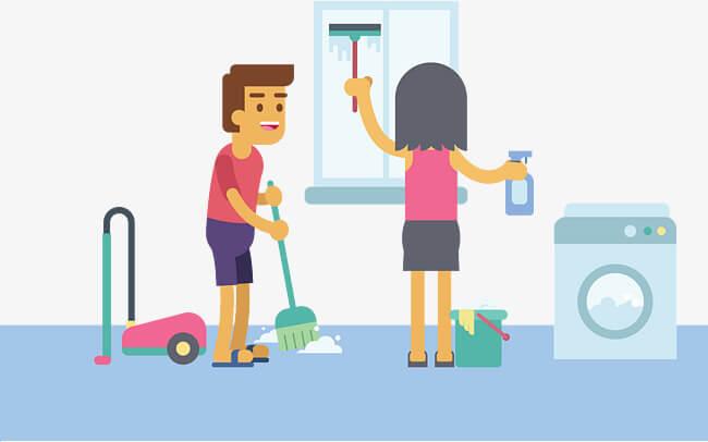 sbattere tappeti e tovaglie in condominio