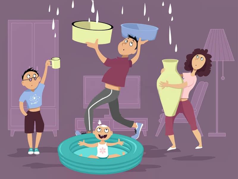 infiltrazioni di acqua in condominio