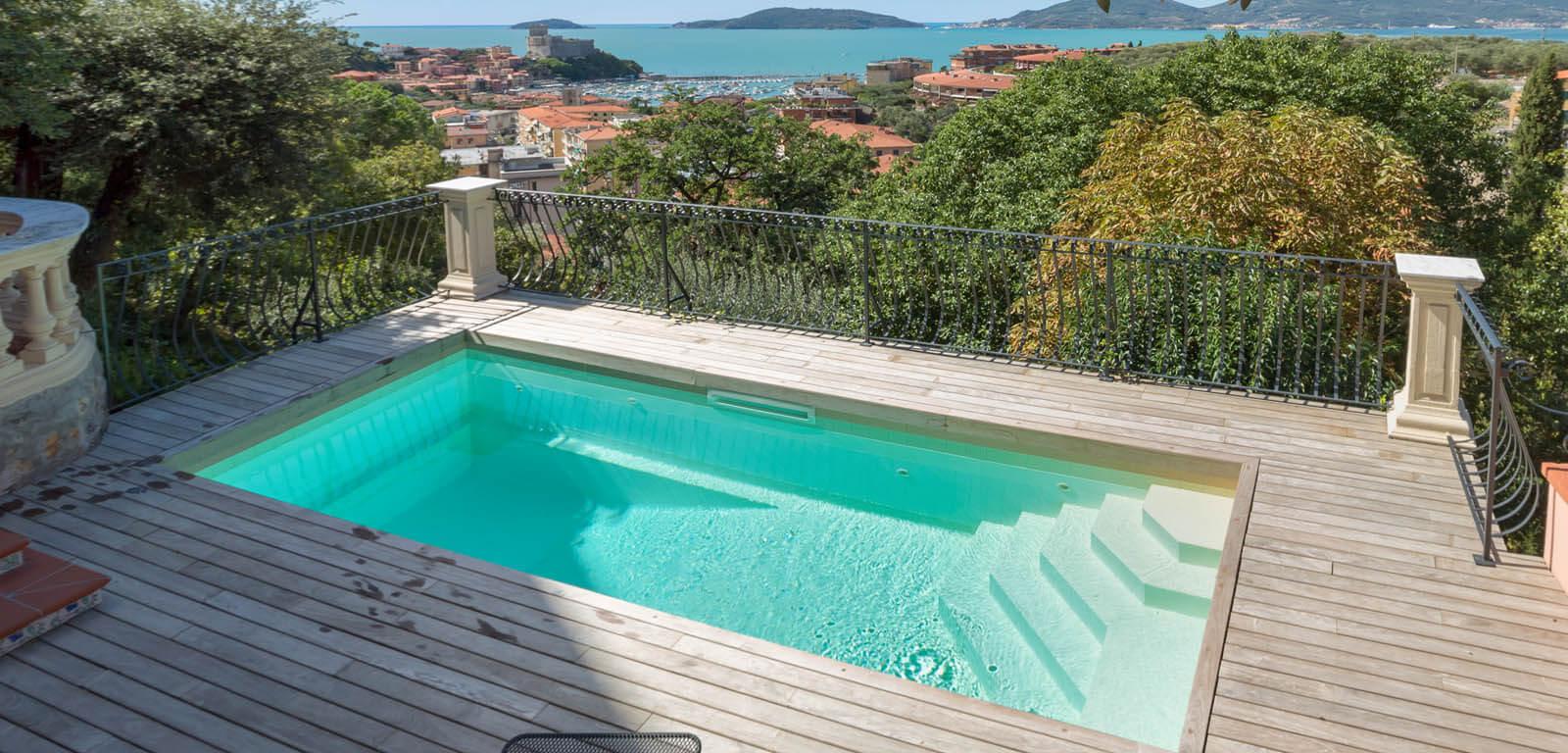 7 tipi di piscina per case con poco spazio blog volpes case - Piscine per giardino ...