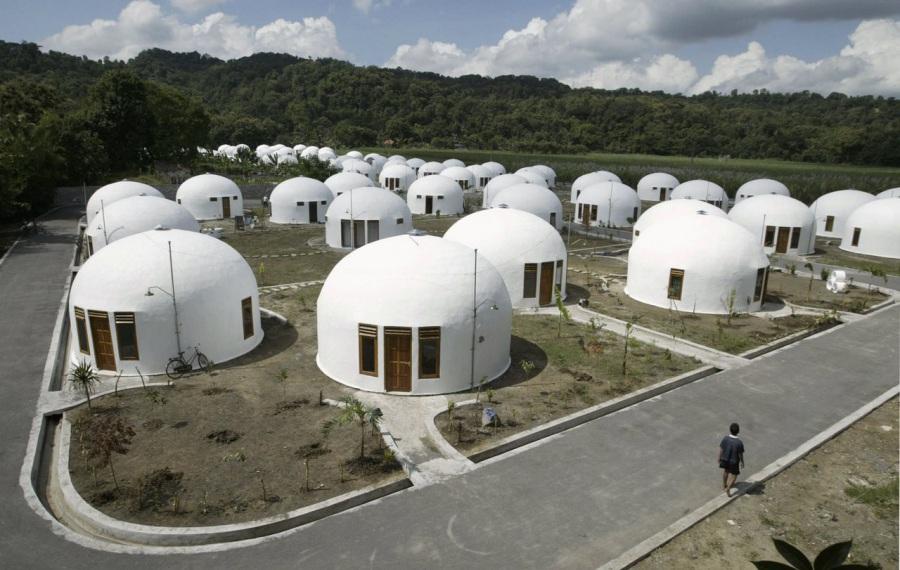 casa più strana del mondo domes